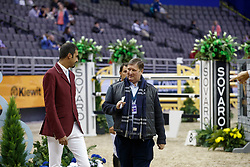 Tops Jan, NED, SheikAl Thani Ali, QAT<br /> Round 2<br /> Longines FEI World Cup Jumping, Omaha 2017 <br /> © Hippo Foto - Dirk Caremans<br /> 01/04/2017