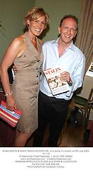 Writers SIMON & SANTA SEBAG-MONTEFIORE, at a party in London on 8th July 2003.PLI 110