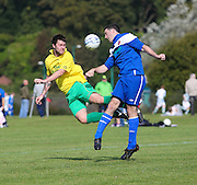Hilltown Hotspur (yellow) v DC Athletic (blue) in the Dundee Saturday Morning Football League Adamson Cup Final<br /> <br />  - &copy; David Young - www.davidyoungphoto.co.uk - email: davidyoungphoto@gmail.com