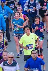 04-11-2018 USA: 2018 TCS NYC Marathon, New York<br /> Race day  TCS New York City Marathon / Inge
