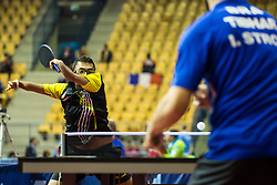 DESPINEUX Ben Ashok of Belgium during SPINT 2018 Table Tennis world championship for the Disabled, Day two, on October 18th, 2018, in Dvorana Zlatorog, Celje, Slovenia. . Photo by Grega Valancic / Sportida
