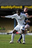 Photo: Tony Oudot/Richard Lane Photography. <br /> Southend United v Swansea City. Coca-Cola League One. 21/03/2008. <br /> Jason Scotland of Swansea shields the ball from Alan McCormack of Southend