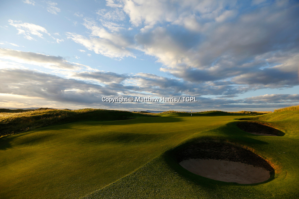 13th par 3 Muirfield,The Honourable Company Of Edinburgh Golfers,Gullane,East Lothian,Scotland.Venue for the 2013 Open Championship,with Ernie ELS (RSA) defending his title,and who was also the winner here in 2002.