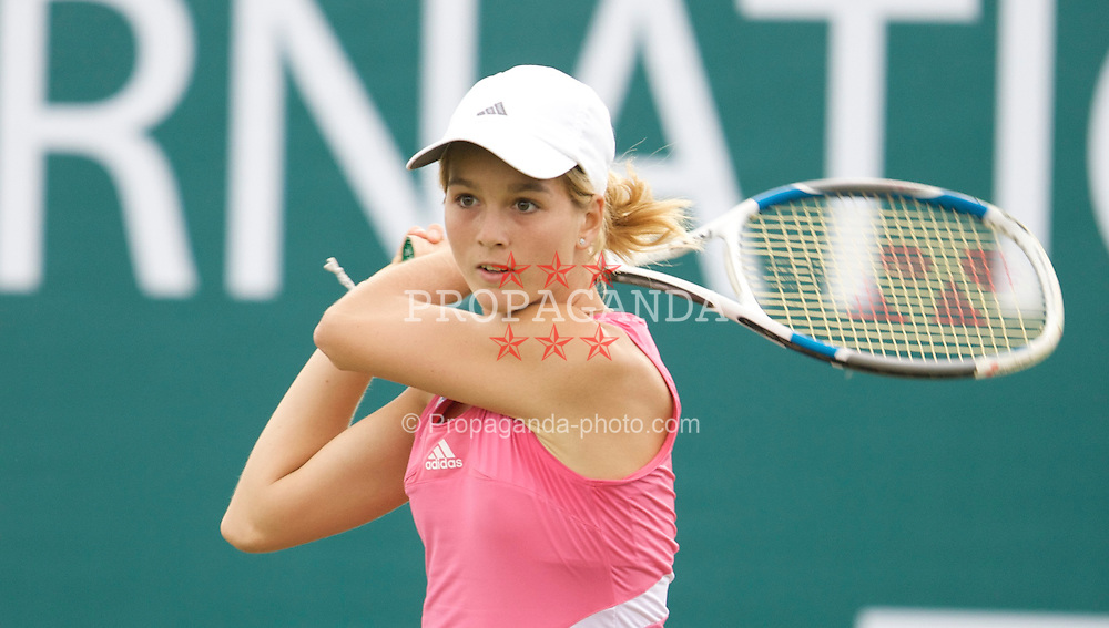 Liverpool, England - Tuesday, June 12, 2007: Nikola Hoffmanova (AUT) in action on day one of the Liverpool International Tennis Tournament at Calderstones Park. For more information visit www.liverpooltennis.co.uk. (Pic by David Rawcliffe/Propaganda)