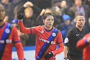 GOAL Ian Henderson celebrates making 0-2  during the The FA Cup 3rd round match between Barrow and Rochdale at Holker Street, Barrow, United Kingdom on 7 January 2017. Photo by Daniel Youngs.