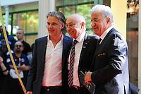 Vincent LABRUNE / Bernard CAIAZZO / Philippe PIAT  - 17.05.2015 - Ceremonie des Trophees UNFP 2015<br /> Photo : Nolwenn Le Gouic / Icon Sport