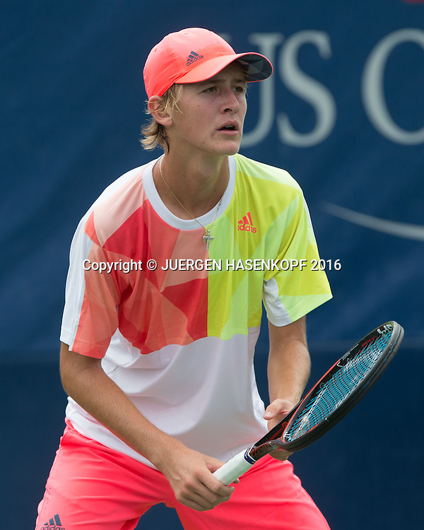 SEBASTIAN KORDA (USA), Junior BS<br /> <br /> Tennis - US Open 2016 - Grand Slam ITF / ATP / WTA -  USTA Billie Jean King National Tennis Center - New York - New York - USA  - 7 September 2016.