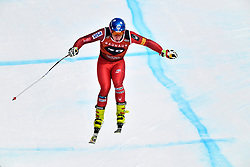 08.03.2017, Are, SWE, FIS Ski Alpin Junioren WM, Are 2017, Herren, Abfahrt, im Bild Sam Morse, USA flyger mot segern // during men's Downhill of the FIS Junior World Ski Championships 2017. Are, Sweden on 2017/03/08. EXPA Pictures © 2017, PhotoCredit: EXPA/ Nisse<br /> <br /> *****ATTENTION - OUT of SWE*****