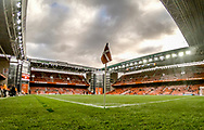 FOOTBALL: A view of the stadium prior to the World Cup 2018 UEFA Qualifier Group E match between Denmark and Romania at Parken Stadium on October 8, 2017 in Copenhagen, Denmark. Photo by: Claus Birch / ClausBirch.dk.