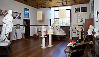 Sculpture studio at Elizabet Ney Museum, Austin, Texas