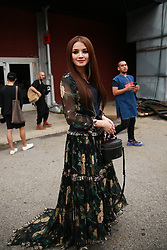September 12, 2018 - New York, New York, United States - Nur Fazura attends the Coach 1941 Runway Show during New York Fashion Week at Pier 94 on September 11, 2018 in New York City. (Credit Image: © Oleg Chebotarev/NurPhoto/ZUMA Press)