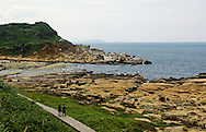 Hoping Island (???) is an amazing coastal park in Keelung, Taiwan (?????).  It has some very interesting geology and beautiful views of the Pacific Ocean.