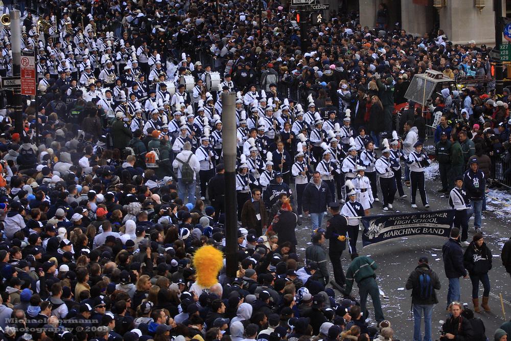 World Series Yankees Parade New York Broadway 2009