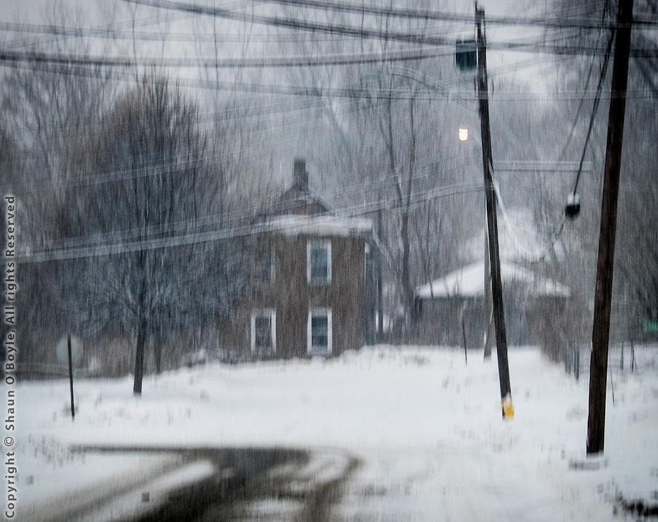 Snowstorm, Pittsfield, MA