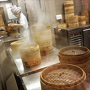 APRIL 16, 2013 — SINGAPORE: Kitchen of a well-renowned Dim sum restaurant in Singapore.