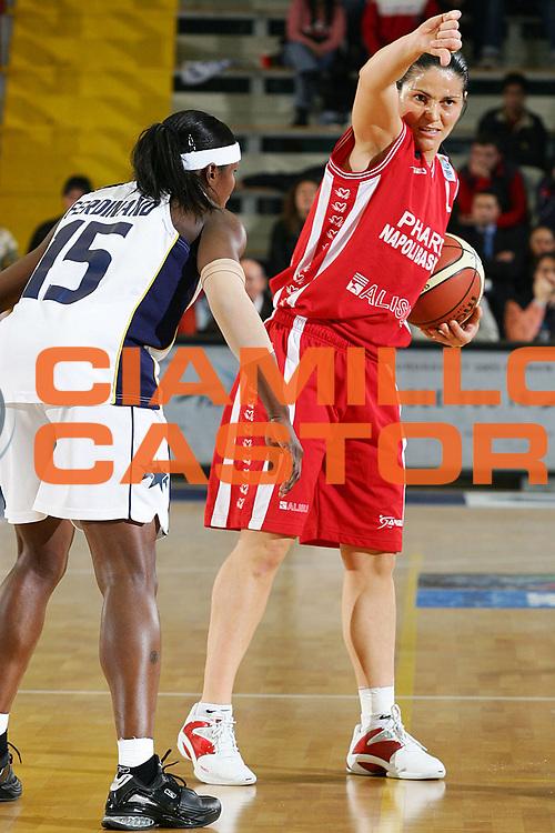 DESCRIZIONE : NAPOLI FIBA EUROPE CUP WOMEN-FIBA COPPA EUROPA DONNE 2004-2005 <br /> GIOCATORE : GENTILE <br /> SQUADRA : PHARD NAPOLI <br /> EVENTO : FIBA EUROPE CUP WOMEN-FIBA COPPA EUROPA DONNE 2004-2005 <br /> GARA : FENERBAHCE SK ISTANBUL-PHARD NAPOLI <br /> DATA : 03/04/2005 <br /> CATEGORIA : <br /> SPORT : Pallacanestro <br /> AUTORE : Agenzia Ciamillo-Castoria/A.Delise