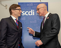 John Swinney and German Ambassador open SCDI annual forum, Edinburgh, 25 April 2019