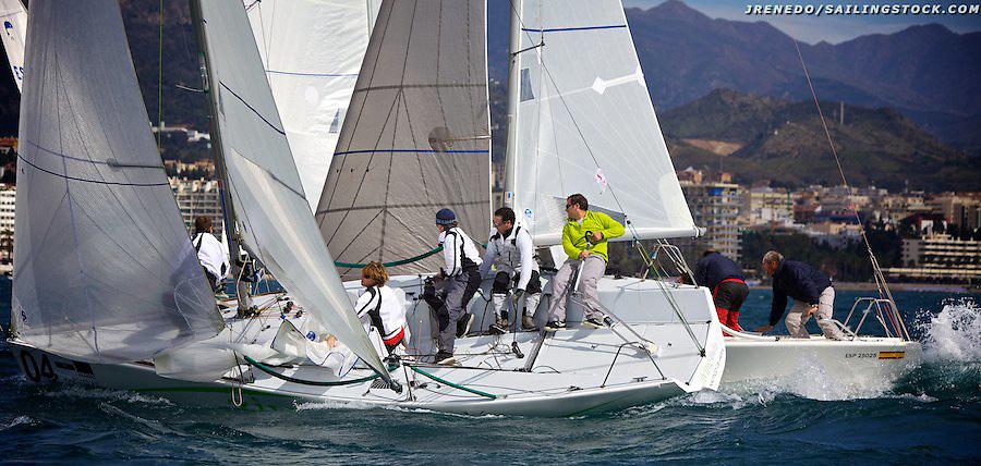 Copa de Espan?a Platu25 2010,DIA 2,regatas 1-2-3
