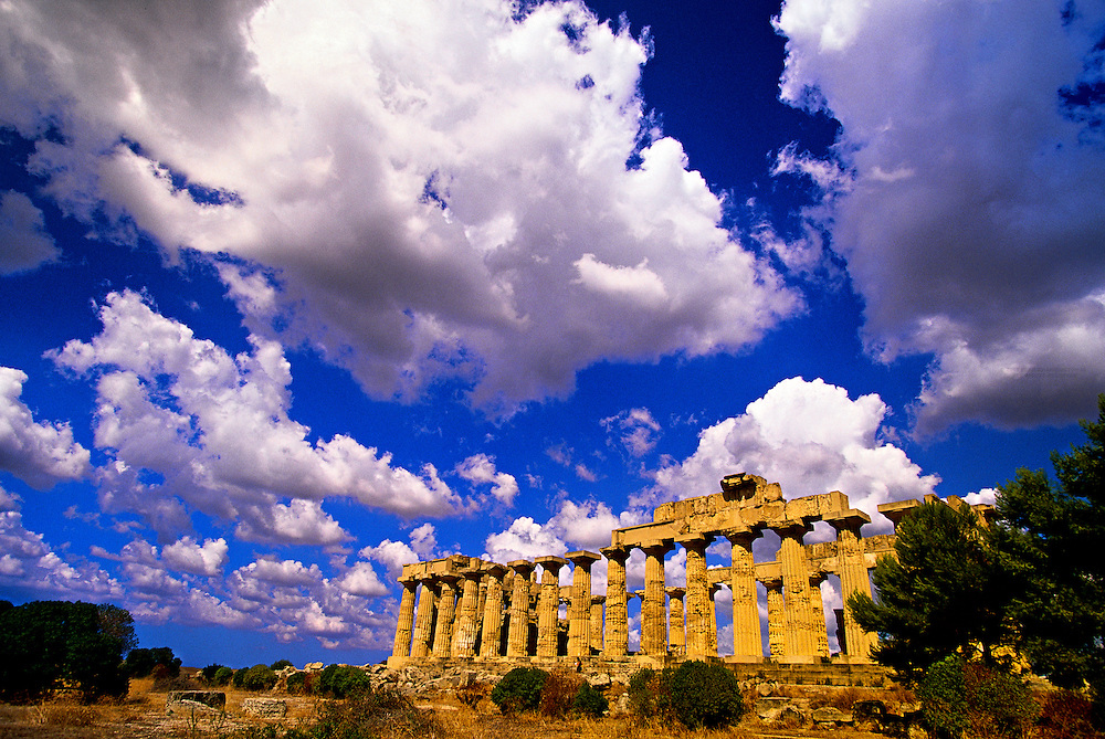 Greek Temple, Selinunte, Sicily, Italy