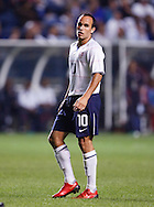Landon Donovan (10).The U.S. Men's National Team defeated Trinidad & Tobago 3-0 at Toyota Park in Bridgeview, IL on September 10, 2008.