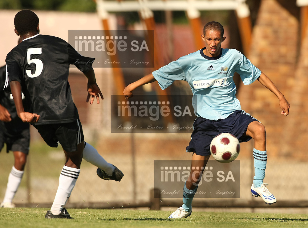 2008 METROPOLITAN U/19 LEAGUE NATIONAL CHAMPIONSHIPS | Metropolitan U/19 League National Championships | POLOKWANE, SOUTH AFRICA, Wednesday 16 April 2008,  during the third day of the Metropolitan under 19 League National Championship soccer tournament held at the Seshego sports stadium in the Limpopo Province.....Photo by Roger Sedres/ImageSA....