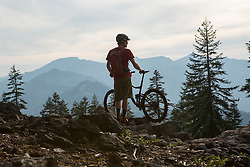 Jeremy Benson on the Tahoe Rim Trail