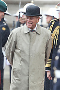 The Duke of Edinburgh's last official engagement