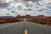 "Monument Valley on the Utah Arizona Border. Location of a scene in the movie ""Forrest Gump."""