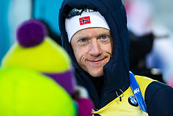 March 10, 2019 - –Stersund, Sweden - 190310 Johannes Thingnes Bö of Norway looks dejected after the Men's 12,5 km Pursuit during the IBU World Championships Biathlon on March 10, 2019 in Östersund. 10, 2019 in Östersund..Photo: Johan Axelsson / BILDBYRÃ…N / Cop 245 (Credit Image: © Johan Axelsson/Bildbyran via ZUMA Press)