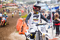 Gautier Paulin #21 of France during MXGP Trentino Qualifying Race, round 5 for MXGP Championship in Pietramurata, Italy on 15th of April, 2017 in Italy. Photo by Grega Valancic / Sportida