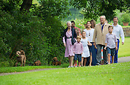 Grasten, 245-07-2015<br /> <br /> Photo session with Queen Margrethe and Prince Henrik, Crown Prince Frederik and Crown Princess Mary and other members of the Danish Royal Family at Grasten Palace.<br /> <br /> Royalportraits Europe/Bernard Ruebsamen