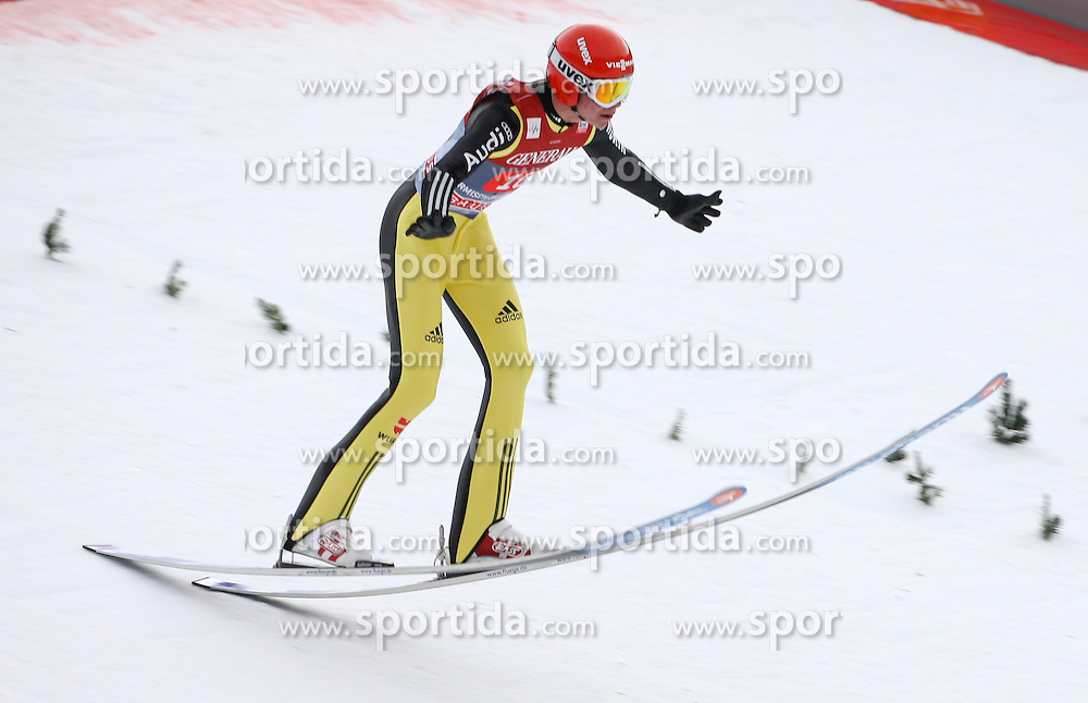 01.01.2013, Olympiaschanze, Garmisch Partenkirchen, GER, FIS Ski Sprung Weltcup, 61. Vierschanzentournee, Bewerb, im Bild Andreas Wellinger (GER) // Andreas Wellinger of Germany during comeptition Jump of 61th Four Hills Tournament of FIS Ski Jumping World Cup at the Olympiaschanze, Garmisch Partenkirchen, Germany on 2012/12/31. EXPA Pictures © 2012, PhotoCredit: EXPA/ Sven Kiesewetter