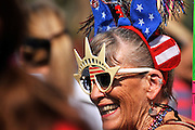 July 4, 2013:  Celebrants in the Palo Verde Neighborhood participate in the 50th annual Fourth of July parade to celebrate the anniversary of the independence of the United States in Tucson, Arizona, USA.  Shari Murphy has attended the parade for 35 years.