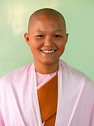 Ma Thisa Wadi, 15 years old, Compassion and Peace Nunnery, Padonmar Sari Nunnery, Nyaung Shwe, Inle Lake, Myanmar