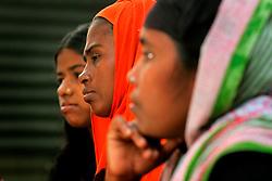 BANGLADESH SIRAJGANJ RADHUNIBARI 31JAN07 - Women's group gathering organised by the Sishuk NGO campaigning for female empowerment, fairer lending and HIV prevention in the Jamuna river area...jre/Photo by Jiri Rezac..© Jiri Rezac 2007..Contact: +44 (0) 7050 110 417.Mobile:  +44 (0) 7801 337 683.Office:  +44 (0) 20 8968 9635..Email:   jiri@jirirezac.com.Web:    www.jirirezac.com..© All images Jiri Rezac 2007 - All rights reserved.