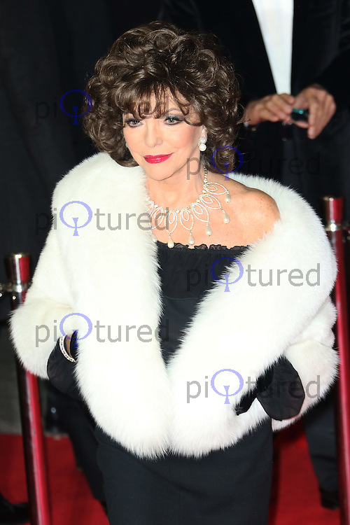Joan Collins, Bond: Spectre - World Premiere & Royal Film Performance, Royal Albert Hall, London UK, 26 October 2015, Photo by Richard Goldschmidt