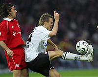 29.04.06 , v.l. Martin Demichelis, Alexander Meier Eintracht<br /> DFB-Pokal Finale Eintracht Frankfurt - FC Bayern Muenchen<br />  Bayern München<br /> Norway only