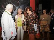 "Presentation of Salon 2008 magazine at Rudolf Budja Galerie. Countess Marianne of Sayn-Wittgenstein-Sayn (""Manni"", l.) and Suzanne Harf (Salzburg Festival Sponsoring & Protocol)."