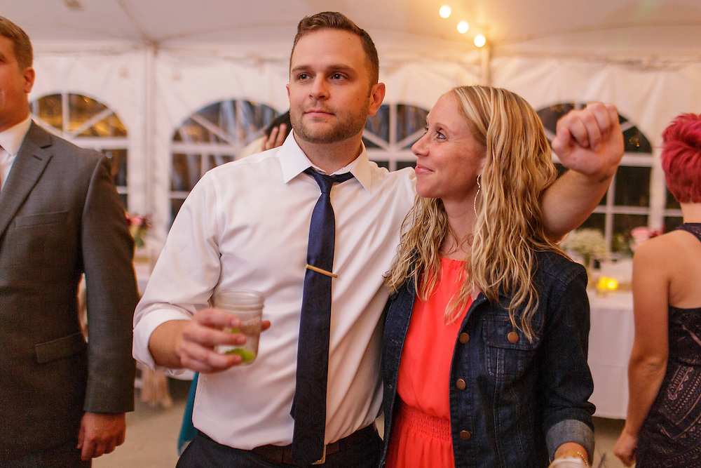 Matt and Anna's wedding at Heritage Prairie Farm Friday, Sept. 11, 2015, in Elburn, Ill. (Stephen Haas)