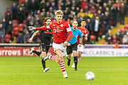 Ben Williams of Barnsley FC during the EFL Sky Bet Championship match between Barnsley and Stoke City at Oakwell, Barnsley, England on 9 November 2019.