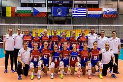 22-08-2017 NED: World Qualifications Belgium - Czech Republic, Rotterdam<br /> Team Czech Republic