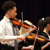 Jaheim Bridges performs with the TMS Orchestra Saturday at the Mississippi Bicentennial Birthday Bash held at the Civic Auditorium