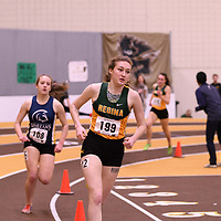 Adriana Davis in action during the 2018 Canada West Track & Field Championship on February  24 at James Daly Fieldhouse. Credit: Arthur Ward/Arthur Images