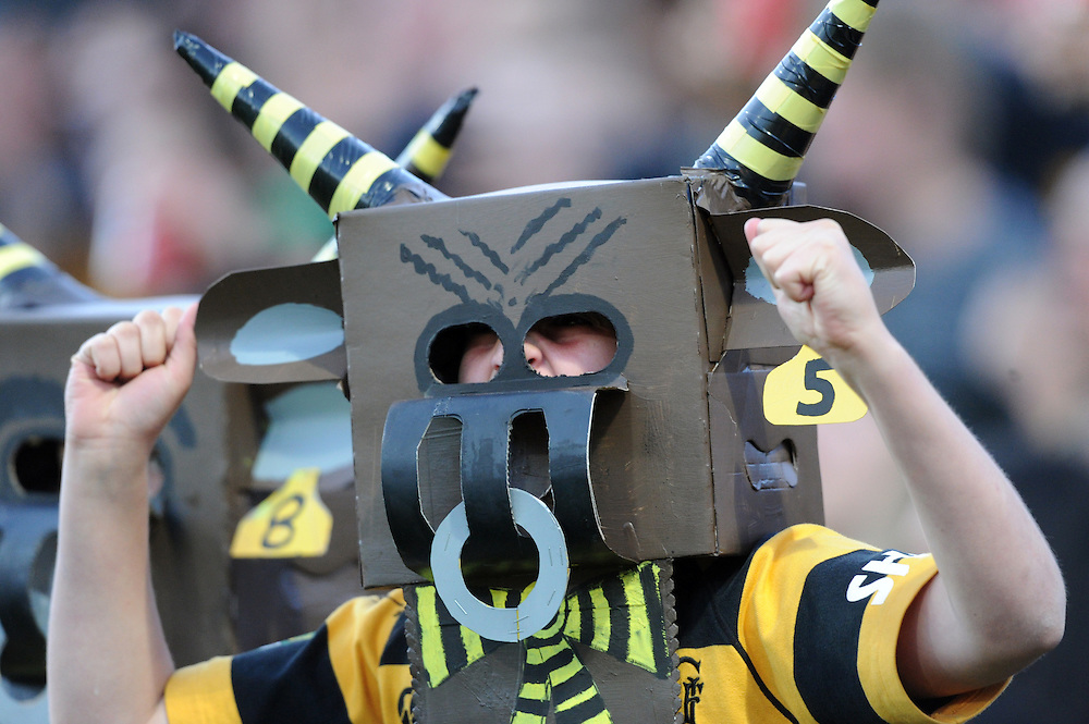 Taranaki supporters against the Tasman Makos in the ITM Cup Rugby Premiership final match at Yarrow Stadium, New Plymouth, New Zealand, Saturday, October 25, 2014. Credit:SNPA / Ross Setford