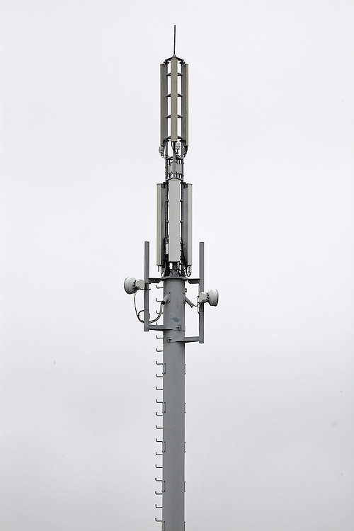 Cell phone tower,   Christchurch, New Zealand, Tuesday, 10 November, 2015.  Credit: SNPA / Pam Carmichael