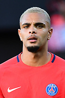 Layvin Kurzawa of PSG during the Ligue 1 match between EA Guingamp and Paris Saint Germain at Stade du Roudourou on August 13, 2017 in Guingamp, . (Photo by Dave Winter/Icon Sport)