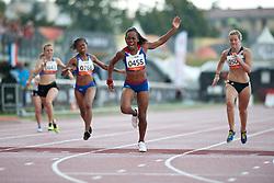 SAPOZHNIKOVA Anna, BENSON Johanna, FRANCOIS-ELIE Mandy, WOODWARD Bethany, FRA, GBR, NAM, RUS, 200m, T37, 2013 IPC Athletics World Championships, Lyon, France