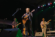 Iron & Wine live at the Nelsonville Music Festival Friday May 18. 2012 10pm photo by Mara Robinson
