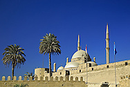 The Mosque of Muhammad Ali at the Citadel, also known as the Alabaster Mosque..Is the most popular Islamic mosque among tourists.