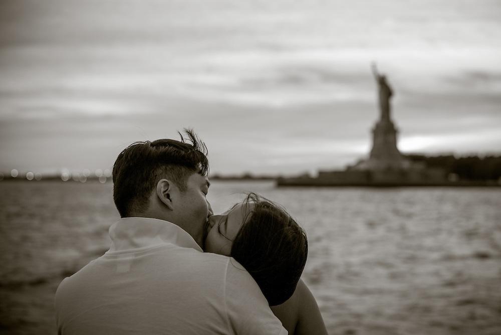 Ferry ride, New York Harbor.